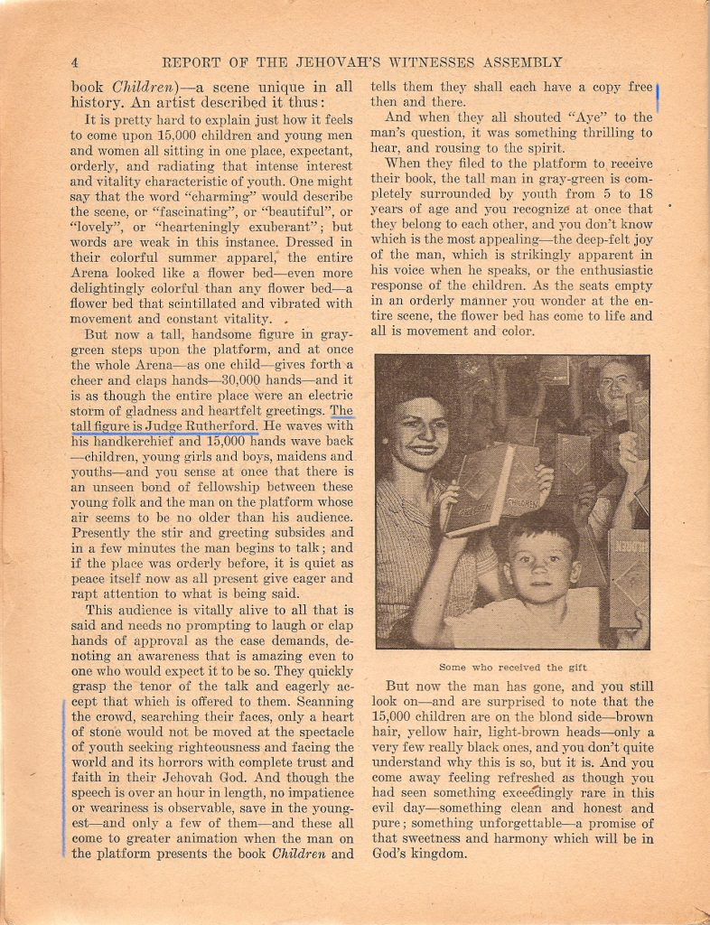Page 4 of Children flyer